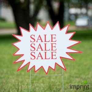 Yard Sign as Effective branding for sales and campaigns