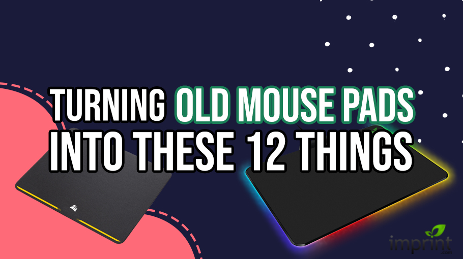 12 Things Turning Old Mouse Pads into Something Useful