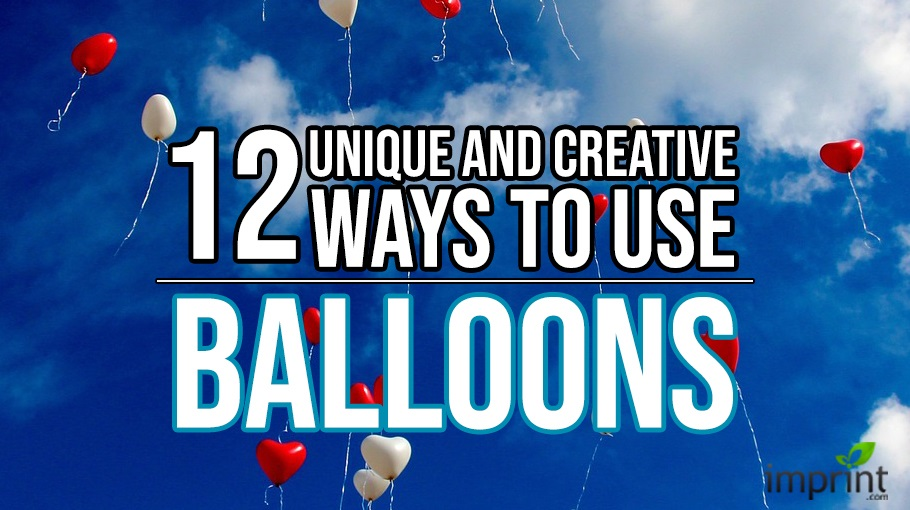 12 Unique and Creative Ways to Use Balloons
