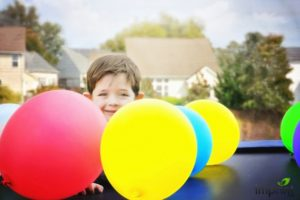Balloon as Bouncing Ball