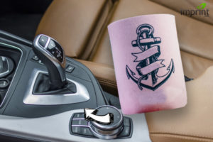 Use koozie to keep your gear shifter cool