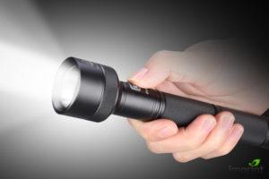 Light output flashlight consideration