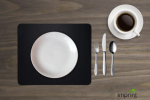 Mousepad as Placemat