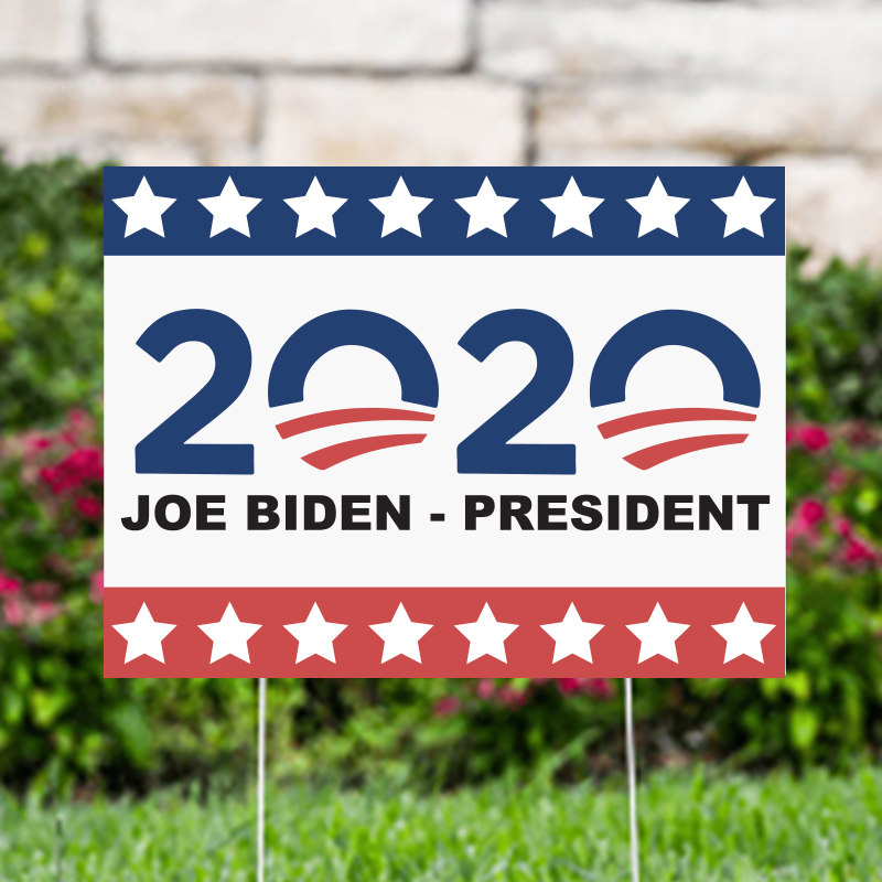 2020 Joe Biden President Political Yard Signs