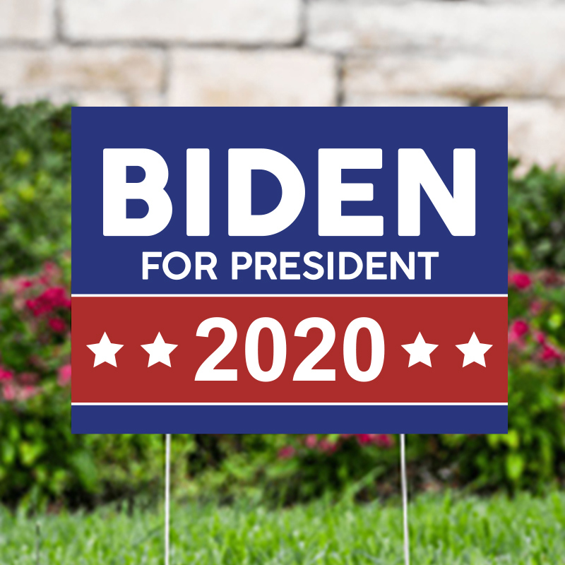Biden For President 2020 Political Yard Signs