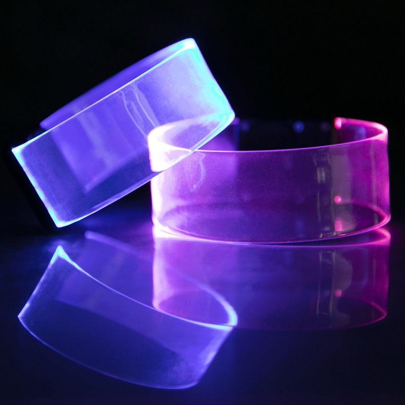 Blank LED Magnetic Wristband Bracelet