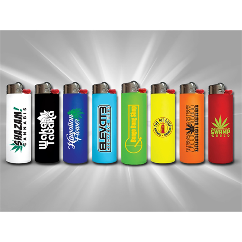 Custom BIC Solid Lighters