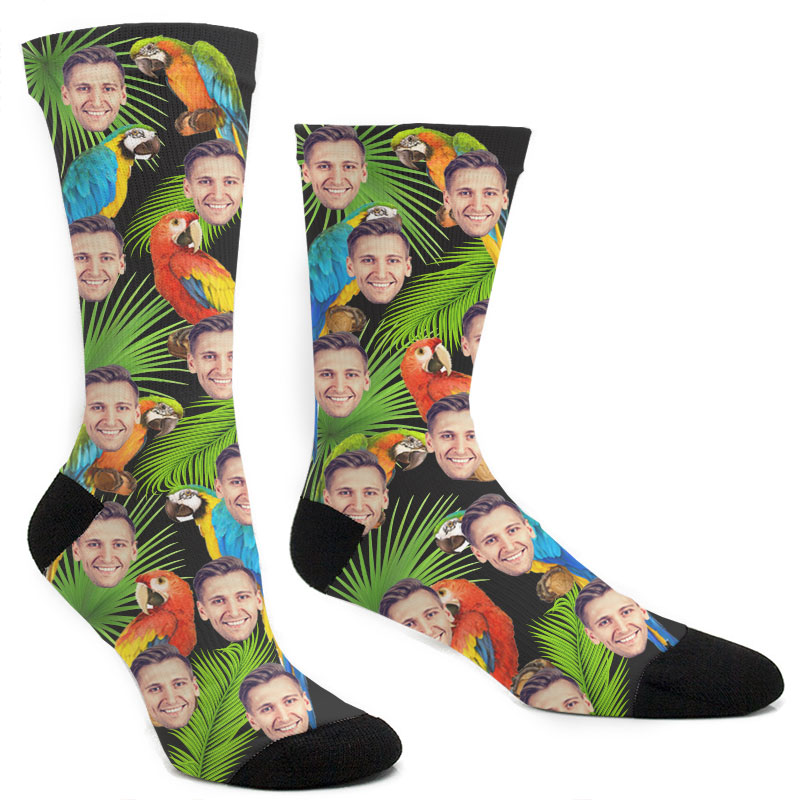 Custom Bird Socks