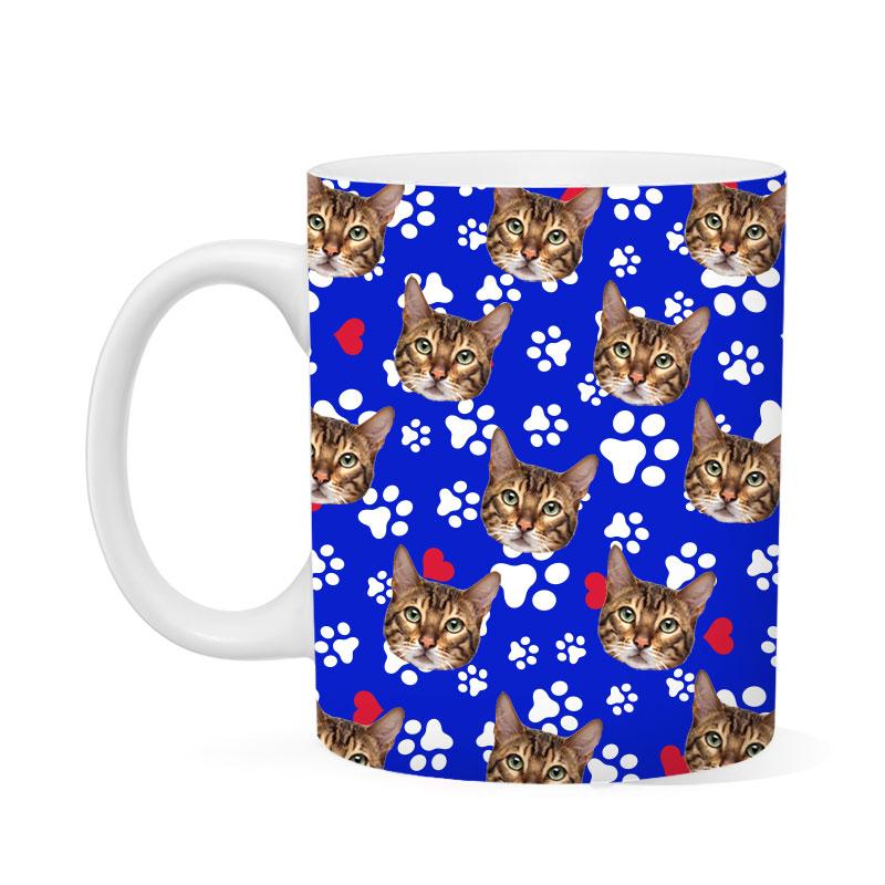 Custom Cats And Paws Mug