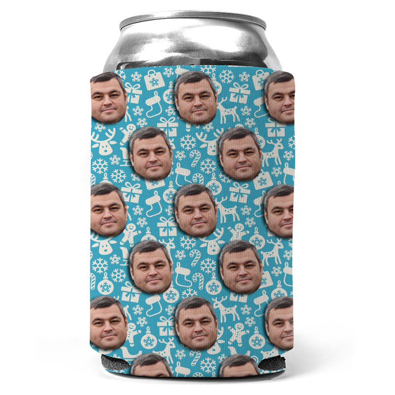 Custom Christmas Presents Can Coolers