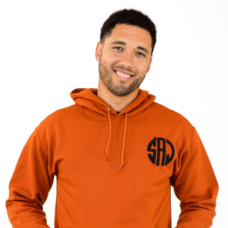 Custom Embroidered Unisex Pullover Hoodies