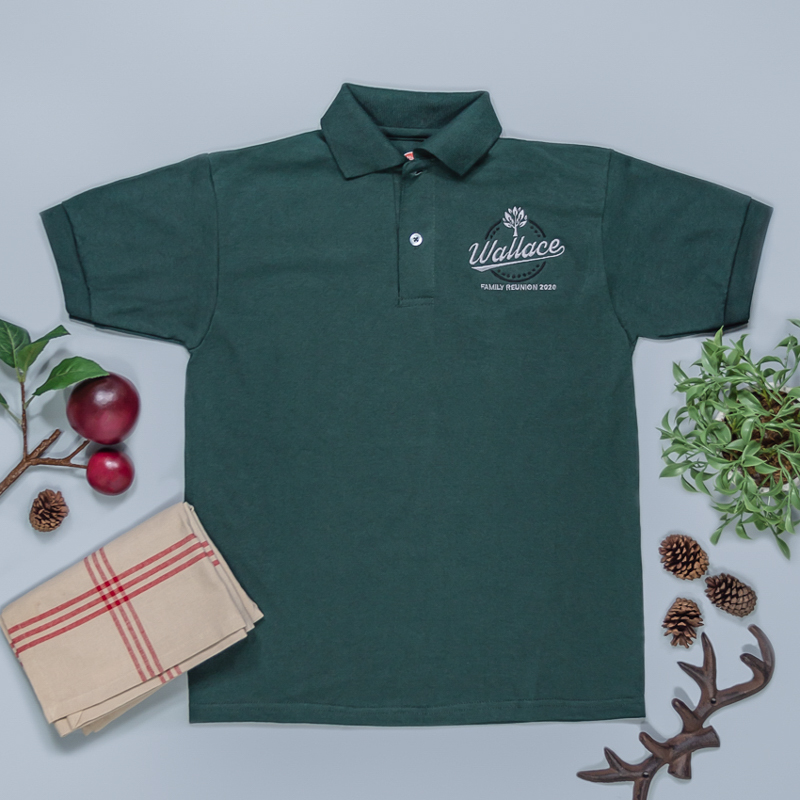 Custom Embroidered Youth Jersey Knit Polo