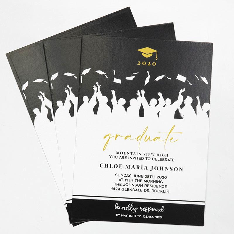 Custom Full Color 5 X 7 Inch Invitation Cards
