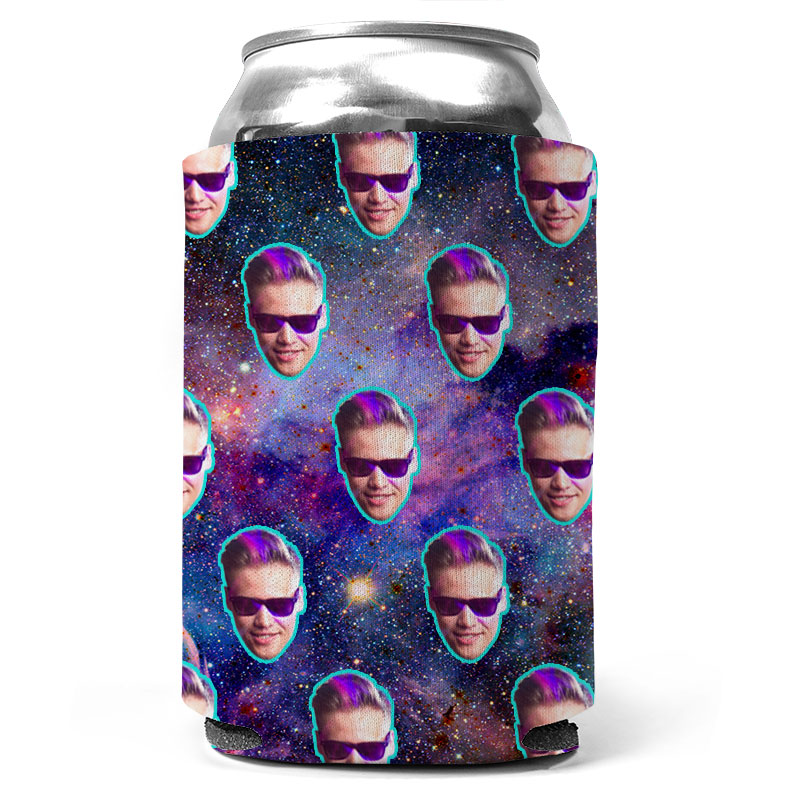 Custom Galaxy Can Coolers
