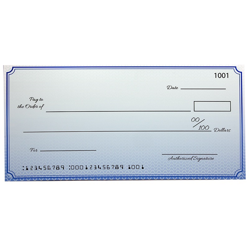 Custom Premium Large Check 22 X 48 Inch