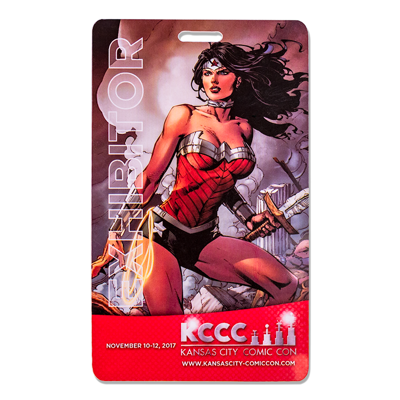 Full Color Printed PVC Cards - 5 X 3 Inch
