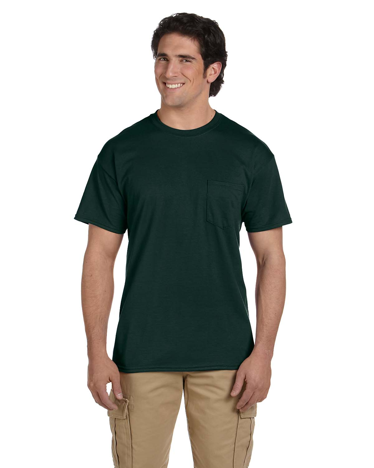 Gildan DryBlend® 5.6 Oz., 50/50 Pocket T-Shirt