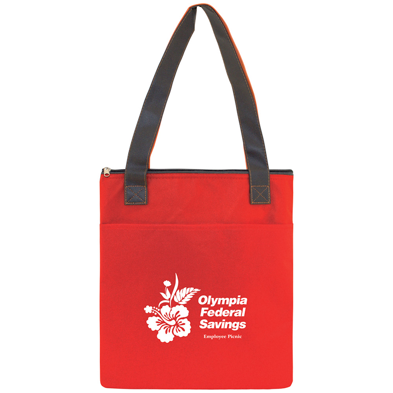 Insulated Slim Tote Bag
