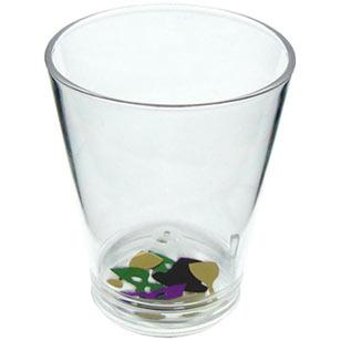 Mardi Gras Shot Glass - 1.5oz