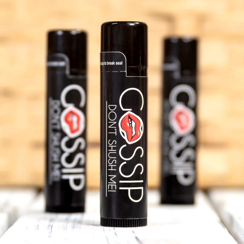 Natural Lip Balm In Black Tube - Full Color