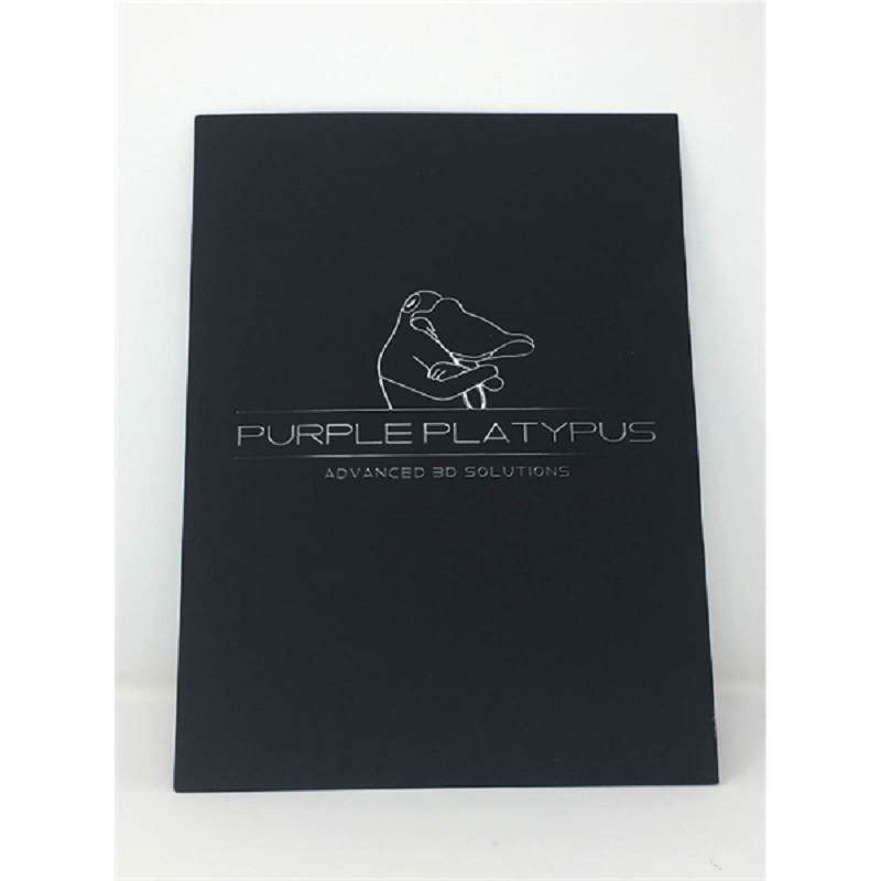 Presentation Folders 4 Color + Raised 3D UV (scodix)