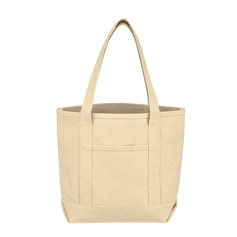 Small Cotton Canvas Yacht Tote Bag