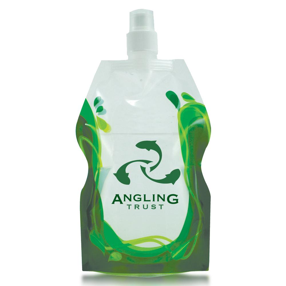 Splash Flat Foldable Bottle 20oz