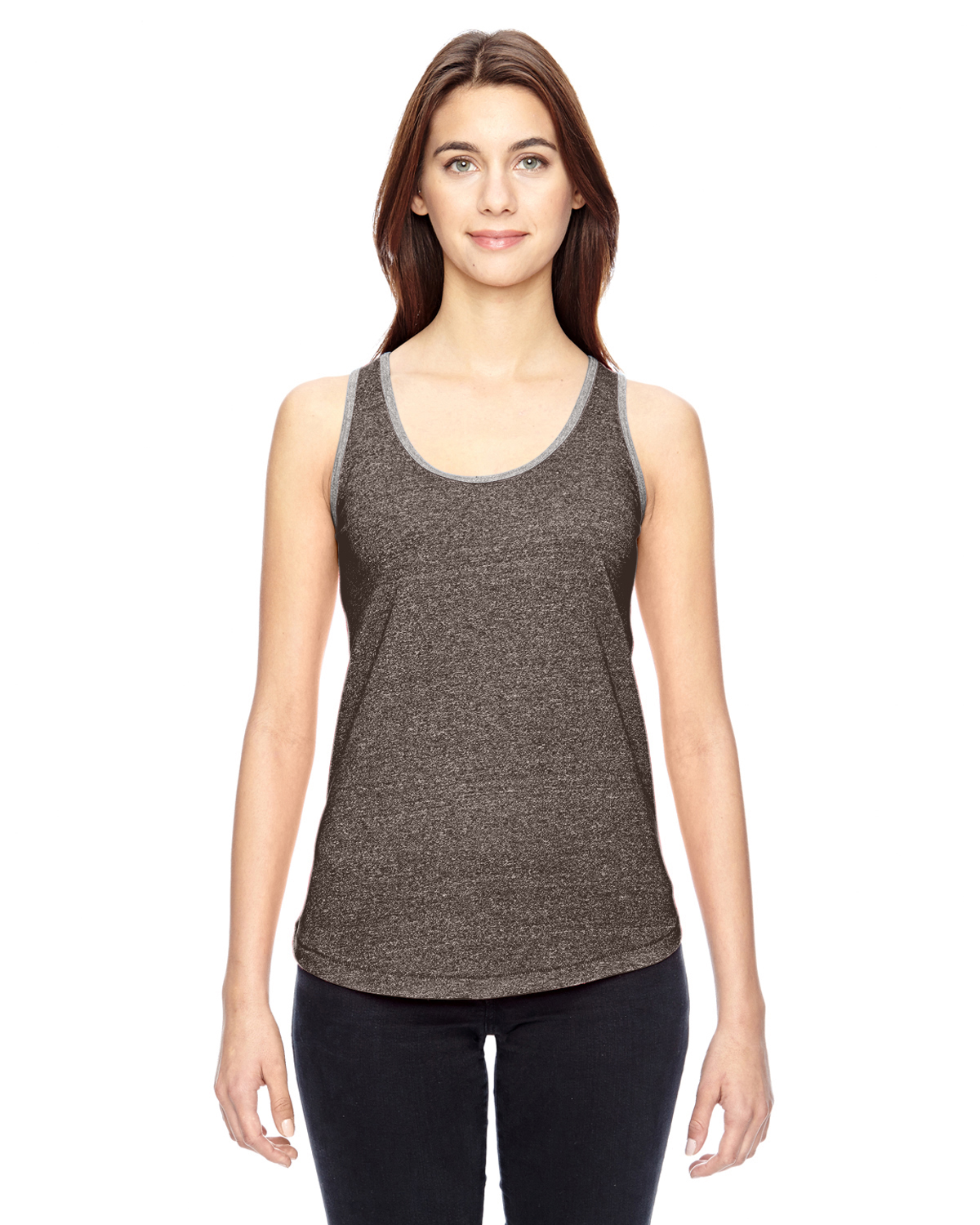 Alternative Ladies Eco-Mock Twist Ringer Tank