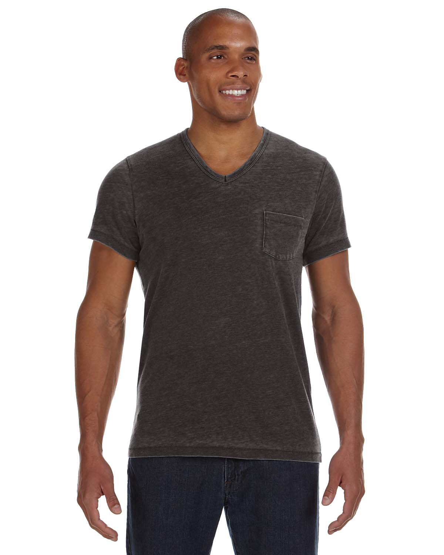 Alternative Mens Leo V-Neck T-Shirt