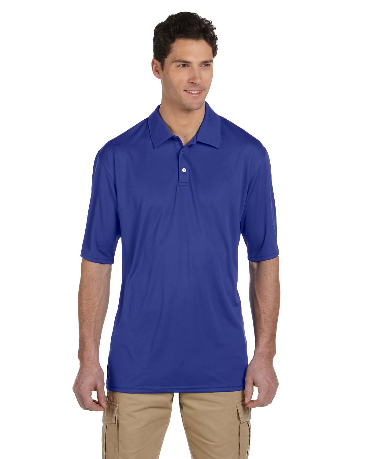 Jerzees Mens 4.1 Oz., 100% Polyester Micro Pointelle Mesh SPORT