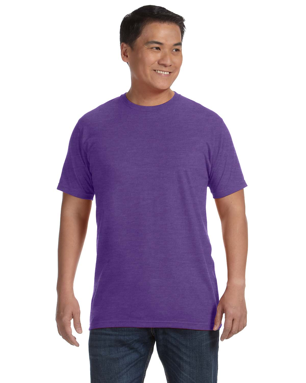 Anvil Organic Ringspunrecycled Polyester T Shirt Short Sleeve T
