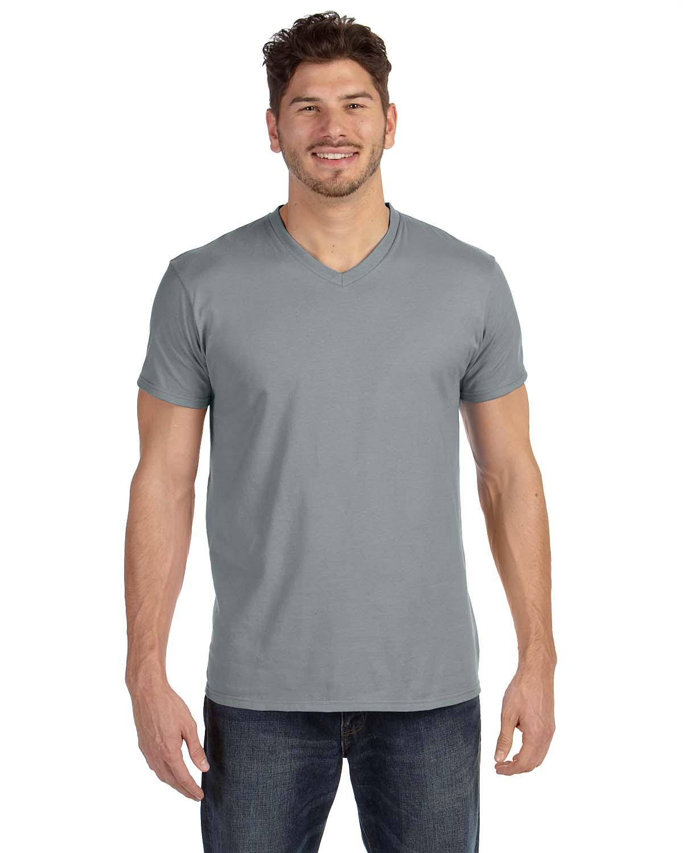 Hanes 4.5 Oz., 100% Ringspun Cotton Nano-T® V-Neck T-Shirt