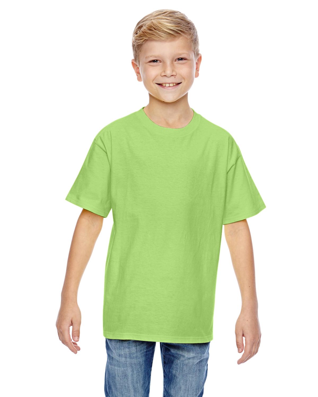 Hanes Youth 4.5 Oz., 100% Ringspun Cotton Nano-T® T-Shirt