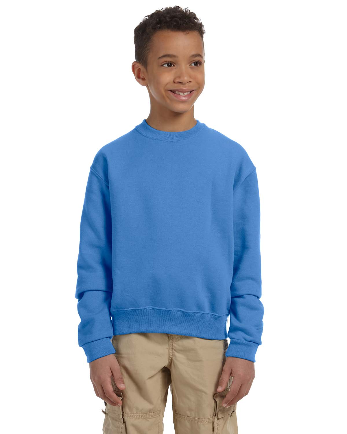 Jerzees Youth 8 Oz., 50/50 NuBlend® Fleece Crew