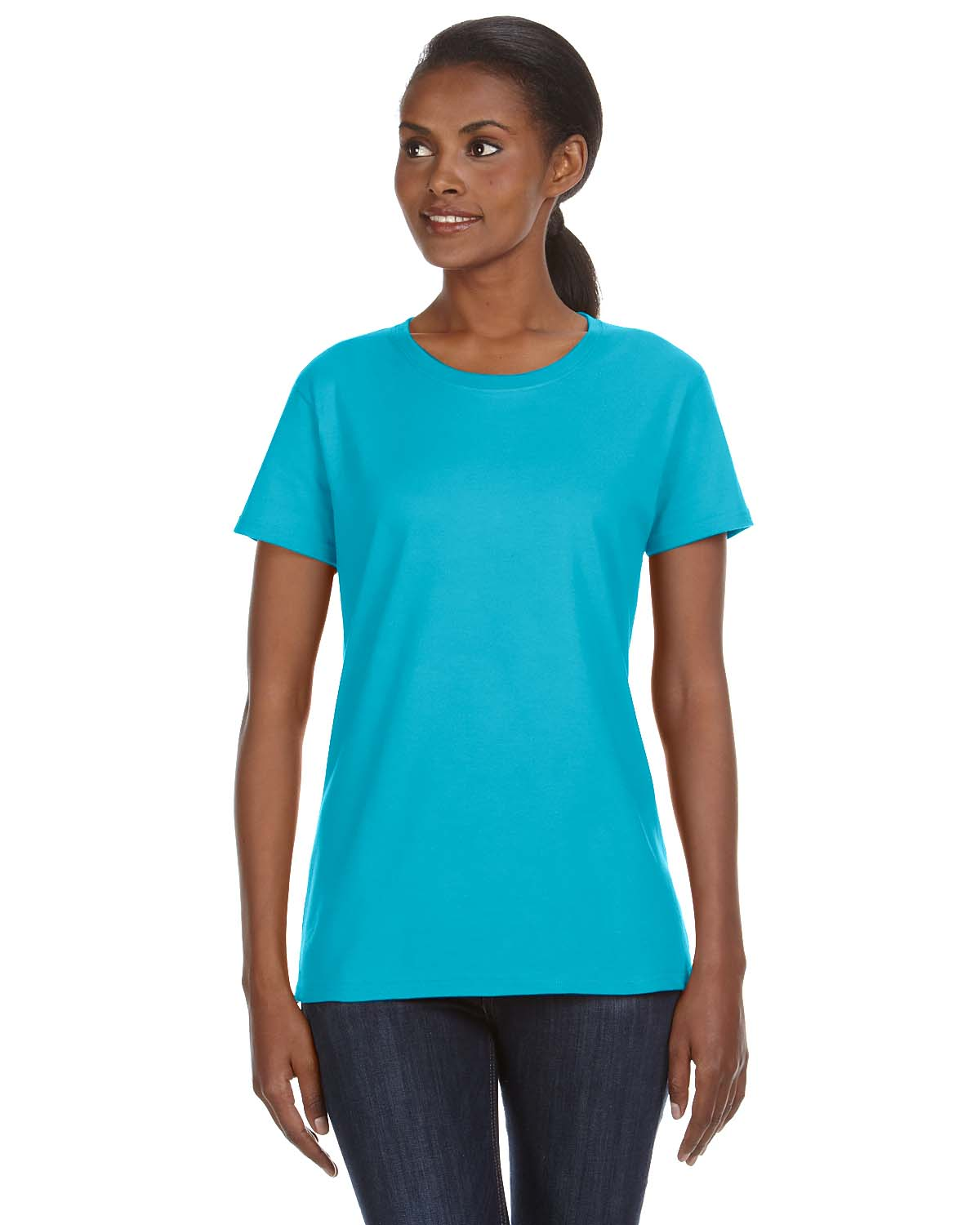 Anvil Ladies Midweight Mid-Scoop T-Shirt