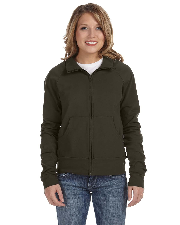 Bella Ladies Cotton/Spandex Cadet Jacket