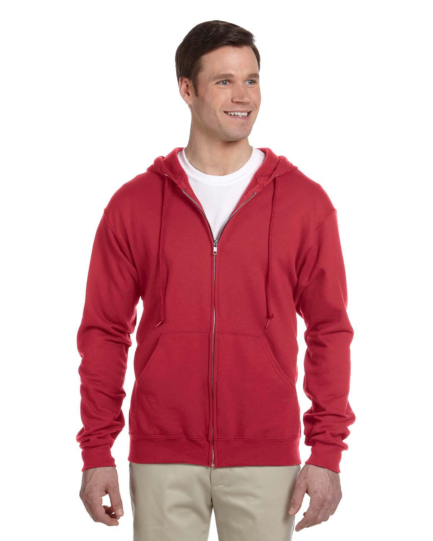 Jerzees 8 Oz., 50/50 NuBlend® Fleece Full-Zip Hood
