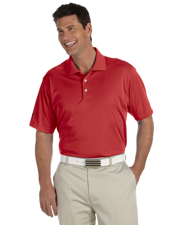 Adidas Golf Mens Climalite® Basic Short-Sleeve Polo