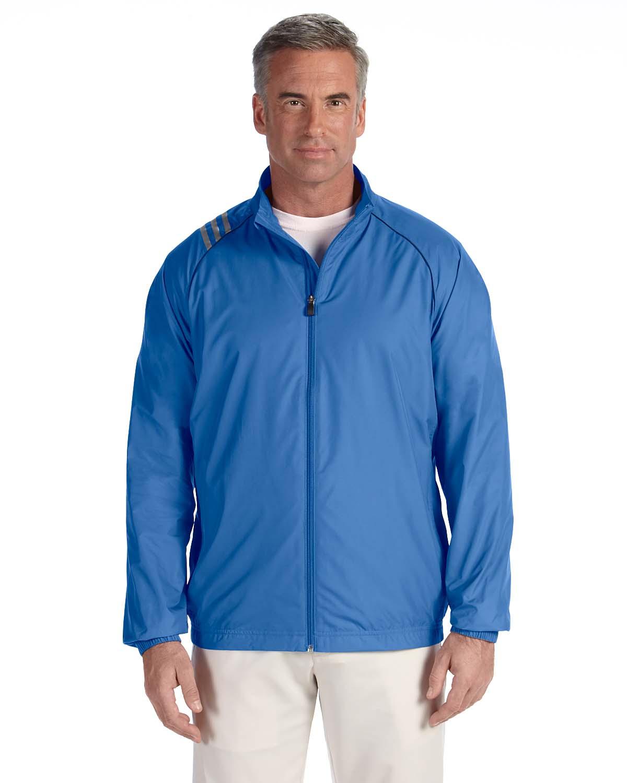 Adidas Golf Mens 3-Stripes Full-Zip Jacket