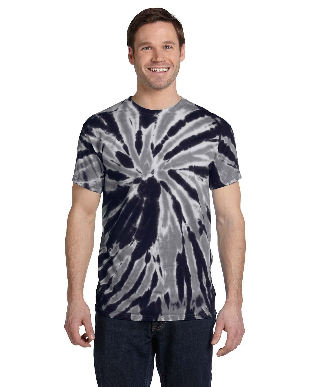 Tie-Dye 5.4 Oz., 100% Cotton Twist Tie-Dyed T-Shirt