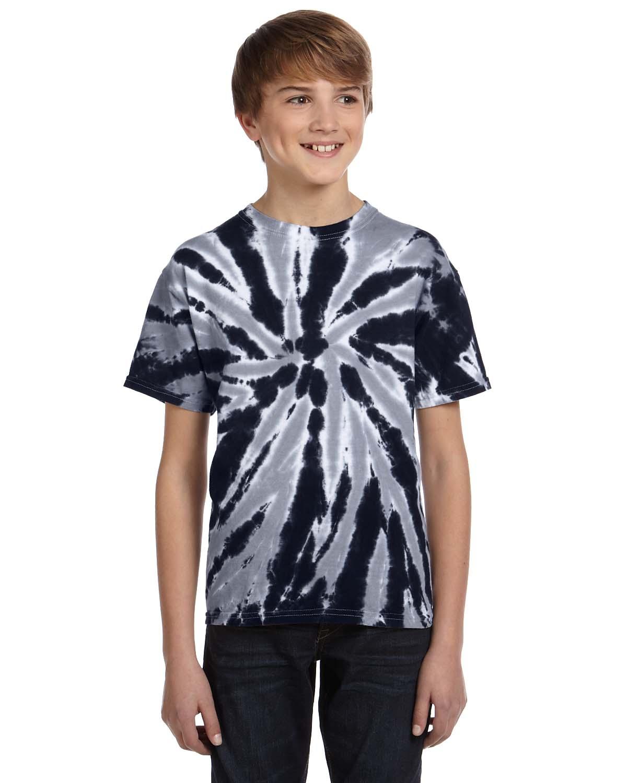 Tie-Dye Youth 5.4 Oz., 100% Cotton Twist Tie-Dyed T-Shirt