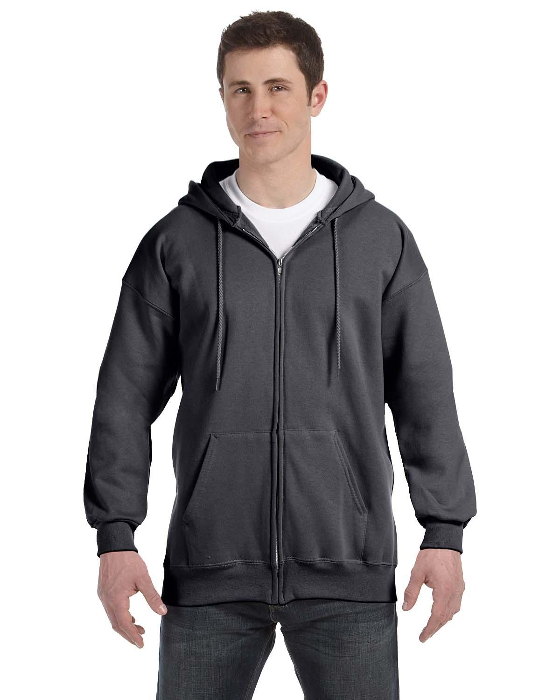Hanes 9.7 Oz. Ultimate Cotton® 90/10 Full-Zip Hood