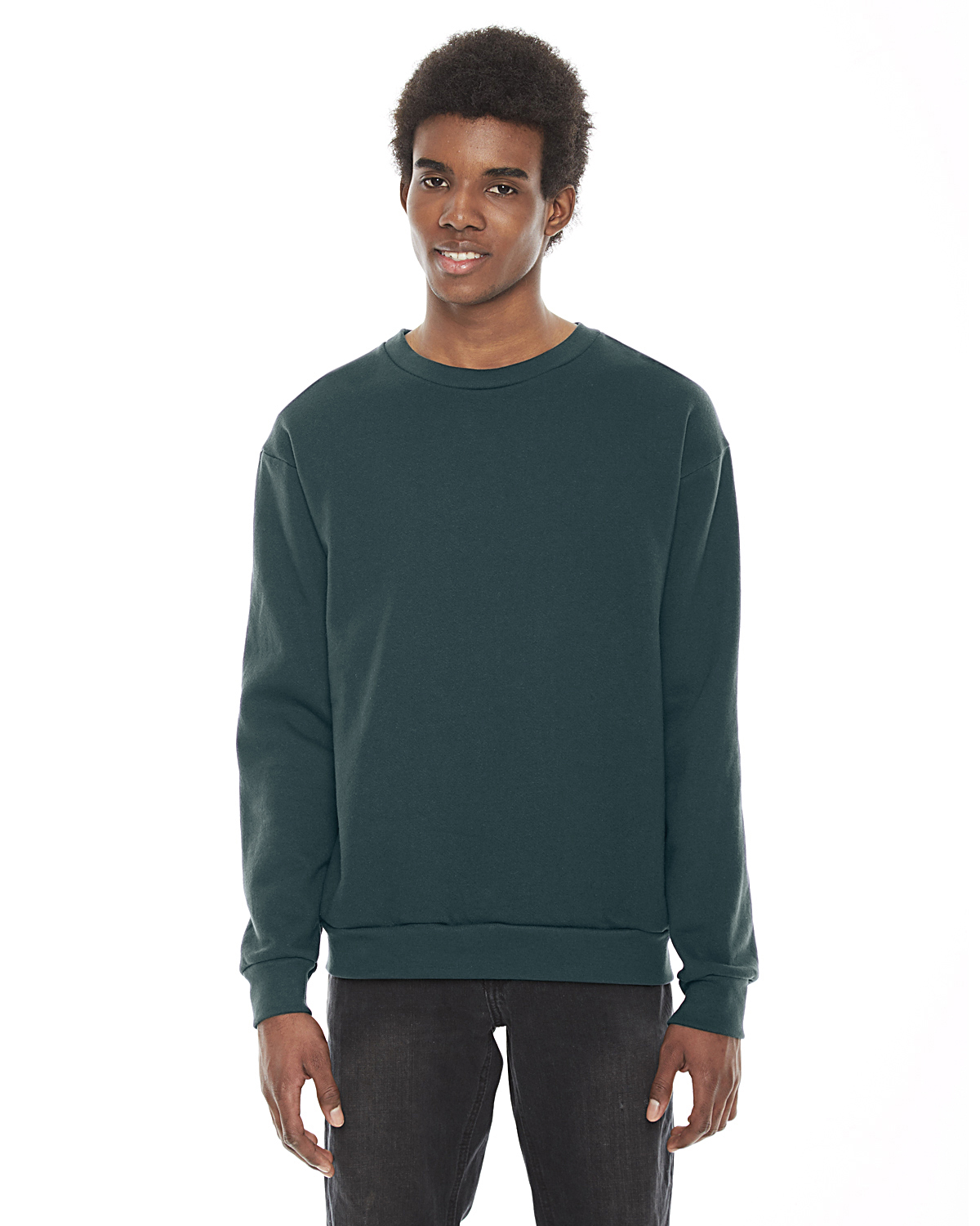 American Apparel Unisex Flex Fleece Drop Shoulder Pullover Crewn