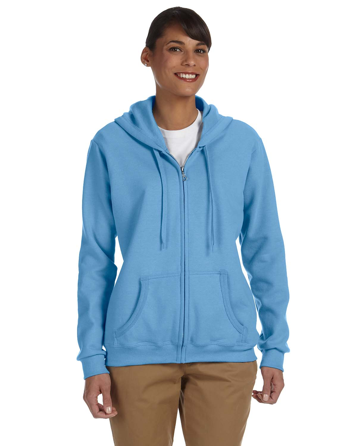 Gildan Heavy Blend™ Ladies 8 Oz., 50/50 Full-Zip Hood