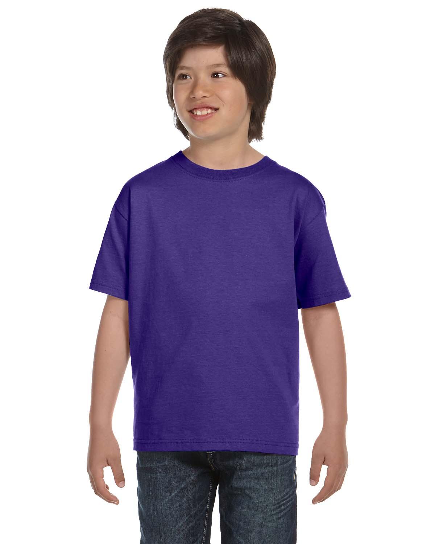 Fruit Of The Loom Youth 6 Oz., 100% Cotton Lofteez HD® T-Shirt