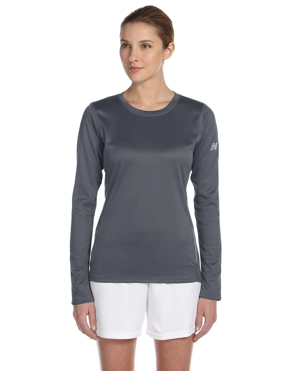 New Balance Ladies Tempo Long-Sleeve Performance T-Shirt