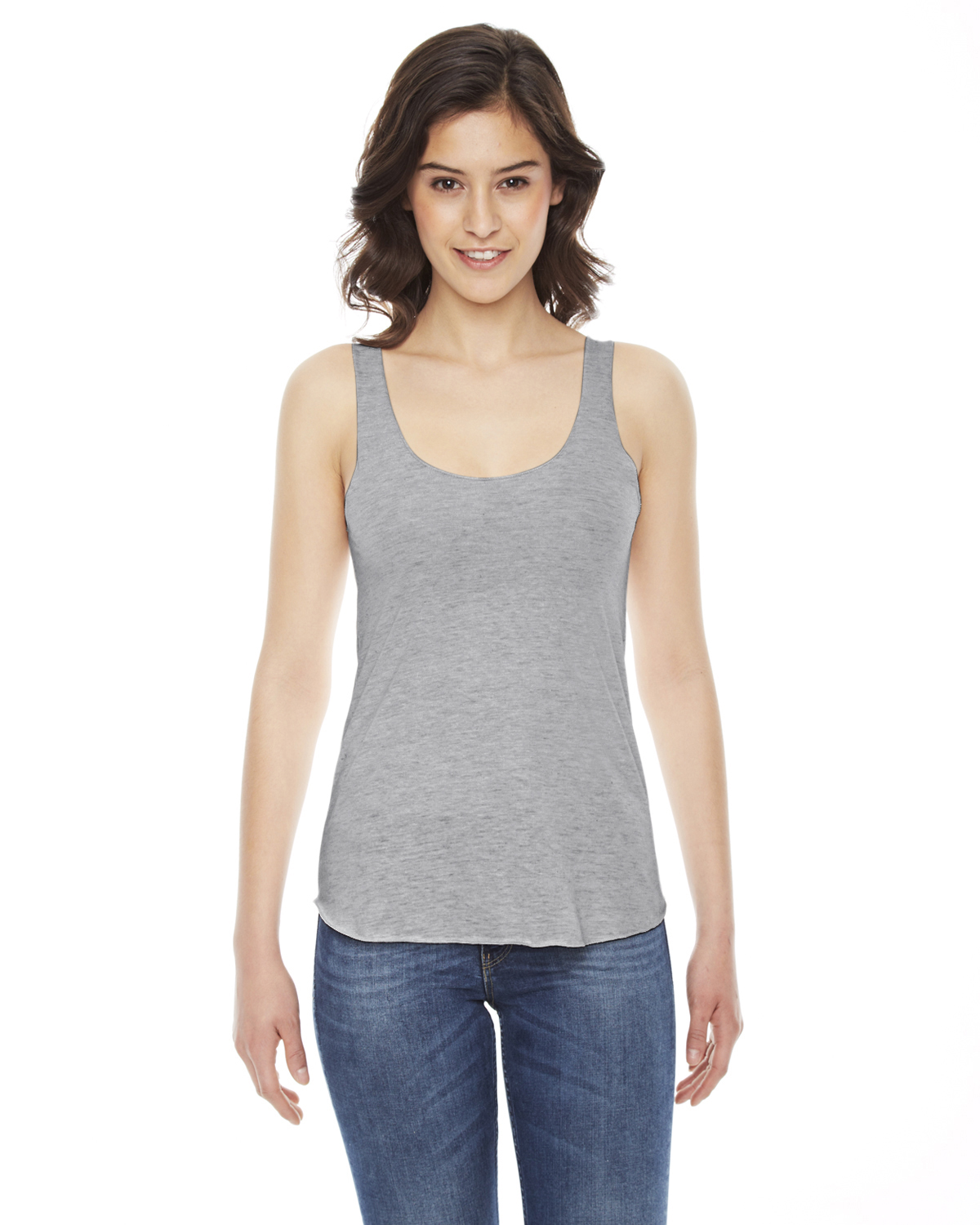 American Apparel Ladies Triblend Racerback Tank