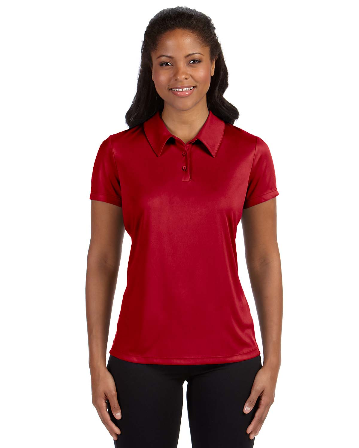 Alo Sport Ladies Performance Three-Button Polo