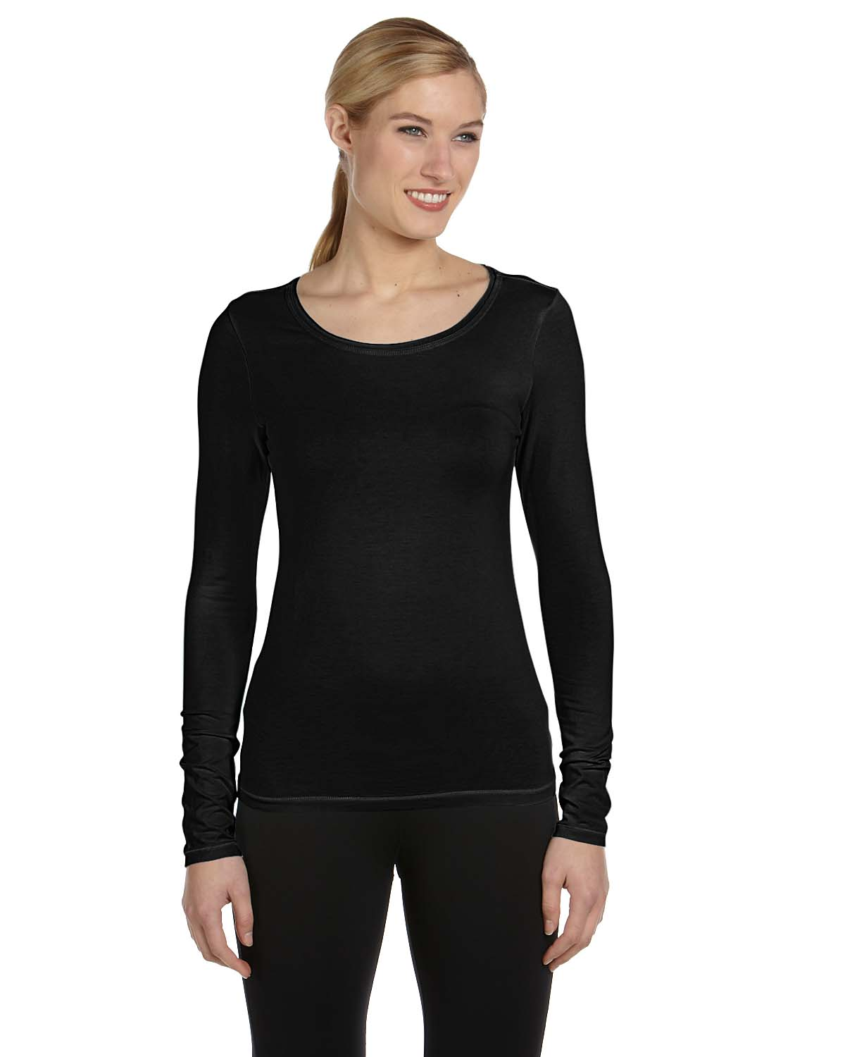 Alo Sport Ladies Bamboo Long-Sleeve T-Shirt