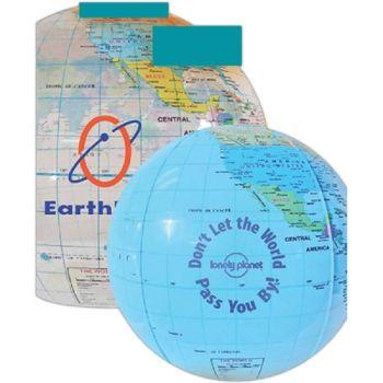 "12"" Globe Beach Ball"